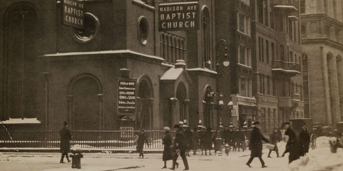 Madison Avenue Baptist Church, New York City