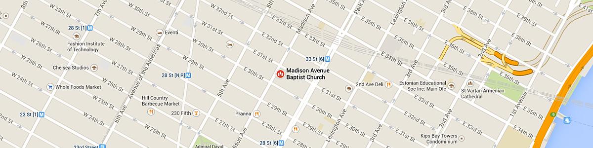 Madison Avenue Baptist Church, New York City