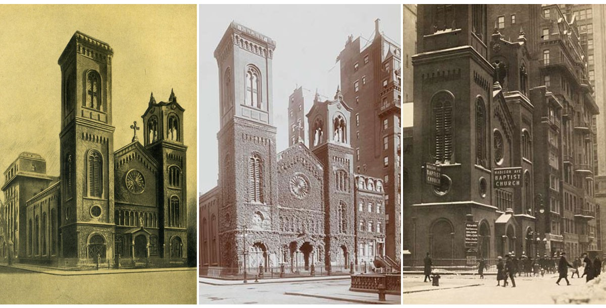 Madison Avenue Baptist Church History